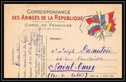 42369 Carte Postale En Franchise 21ème Dragons Octogonal Non Lisible Secteur Guerre 1914/1918 War Postcard - WW I