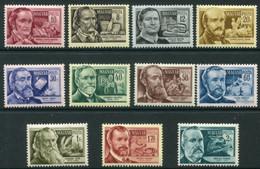 HUNGARY 1954 Scientific Personalities  MNH / **.  Michel 1398-408 - Nuevos