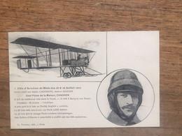Fêtes D'Aviation De BLOIS Des 28 Et 29 Juillet 1912 _Guillaux Sur Biplan CANDRON - Meetings