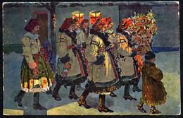F2126 - Antoš Frolka Künstlerkarte - Tracht Trachten - Künstlerkarte - Minerva - Costumes