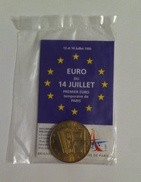 2-euros-de-Paris-13--14-juillet-1996-Brigade-des-Sapeurs-Pompiers-de-Paris - France