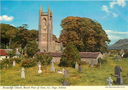 CPSM Drumcliffe Church,Burial Place Of Yeats,Sligo   L623 - Donegal