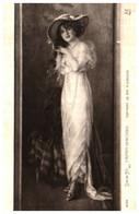 Tableau 743 S Aufray-genestoux, Portrait De Melle A Dorgére (femme Chapeau - Paintings