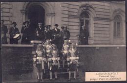 +++ CPA - BINCHE - Collège - Carnaval 1909 - Quelques Pages De Malbrough - Folklore  // - Binche