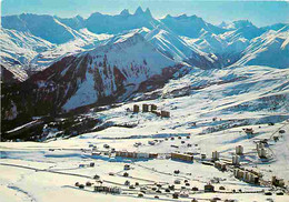 73 - La Toussuire - Vue Panoramique Et Aiguilles D'Arves - CPM - Voir Scans Recto-Verso - Andere Gemeenten