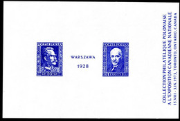 CANADA POLISH POLAND SOUVENIR LABEL - WRITING IN FRENCH -  POLONUS PHILATELY SOCIETY EXHIBITION 1973 - 3 - Esposizioni Filateliche
