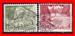 SUIZA ( HELVETIA ) SELLOS AÑO 1949 ENERGIA - Used Stamps