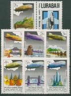 Ungarn 1981 LURABA Luzern Luftschiff Graf Zeppelin 3477/83 A Postfrisch - Nuevos