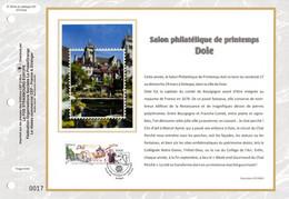"""2020 : """" DOLE """" Sur Feuillet CEF 1er Jour Sur Soie. N° YT 5389. Parfait état FDC - 2010-...."""
