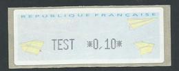 VIGNETTE TEST - 2000 «Avions En Papier»