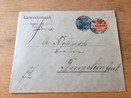 K20 Deutsches Reich 1921 Brief Von Rheine Nach Burgsteinfurt - Covers & Documents