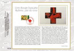 """2020 : """" CROIX-ROUGE : RYTHME, JOIE DE VIVRE """" Sur Feuillet CEF 1er Jour. N° YT . Parfait état FDC - 2010-...."""