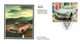 """2020 : """" FDT 2020 : PEUGEOT 404 BERLINE """" Sur Enveloppe 1er Jour N° YT 5391. Parfait état FDC - Autos"""