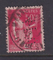 Perforé/perfin/lochung France No 283 A-H- Albert Heyman - Gezähnt (Perforiert/Gezähnt)