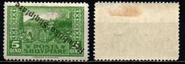 ALBANIA - 1925 - Inverted Overprint - MH - Albania