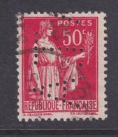 Perforé/perfin/lochung France No 283 A.T (189) - Gezähnt (Perforiert/Gezähnt)