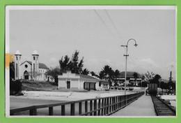 Lumba - Estação De Caminho De Ferro - Igreja - Railway Station - Gare - Chemin De Fer - Moçambique - Mozambique