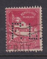 Perforé/perfin/lochung Algérie 1930 No DZ79a  F.L (19-5) - Gebruikt