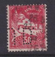 Perforé/perfin/lochung Algérie 1930 No DZ79a  J.D. (23) - Gebraucht