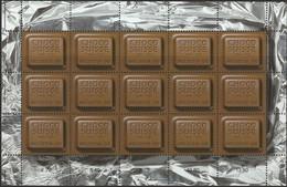 SWITZERLAND 2001 Chocosuisse Chocolate-scented Sheet Of 15 MNH, Michel Nr. 1759 (Scott No. 1100) - Nuevos