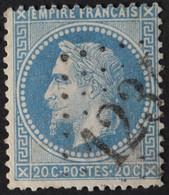 29B Obl GC 1234 Croissanville (13 Calvados ) Ind 6 - 1849-1876: Période Classique