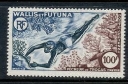 Wallis & Futuna 1962 Shell Diver MUH - Unused Stamps