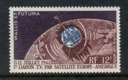 Wallis & Futuna 1962 Telstar MUH - Unused Stamps