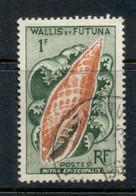 Wallis & Futuna 1962-63 Seashells 1f FU - Used Stamps