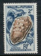 Wallis & Futuna 1962-63 Seashells 2f MUH - Unused Stamps