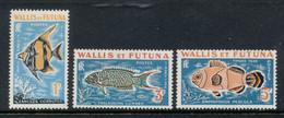 Wallis & Futuna 1963 Postage Dues, Fish MLH - Unused Stamps