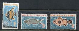 Wallis & Futuna 1963 Postage Dues, Fish MUH - Unused Stamps
