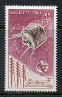Wallis & Futuna 1965 ITU Satellite  MLH - Unused Stamps