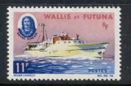 Wallis & Futuna 1965 Ship Queen Amelia MLH - Unused Stamps