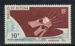Wallis & Futuna 1966 D-1 Satellite MUH - Unused Stamps
