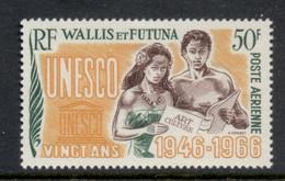 Wallis & Futuna 1966 UNESCO 20th Anniv. MUH - Unused Stamps