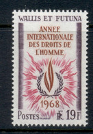 Wallis & Futuna 1968 International Human Rights Year MLH - Unused Stamps