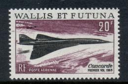 Wallis & Futuna 1969 Concorde MLH - Unused Stamps