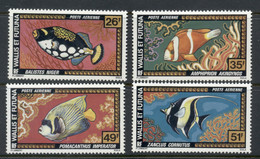 Wallis & Futuna 1978 Marine Life, Fish MLH - Unused Stamps