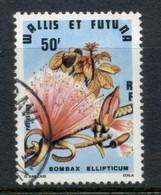 Wallis & Futuna 1979 Flowers 50f FU - Used Stamps