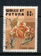 Wallis & Futuna 1979 Flowers 62f FU - Used Stamps