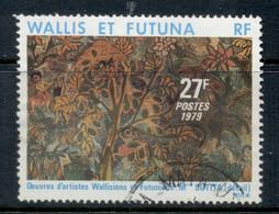 Wallis & Futuna 1979 Local Paintings 27f FU - Used Stamps