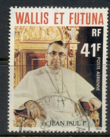 Wallis & Futuna 1979 Pope John Paul I 41f FU - Used Stamps
