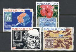 Wallis & Futuna 1979 Rowland Hill MUH - Unused Stamps