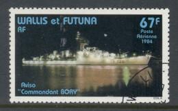 Wallis & Futuna 1984 Steamer Commandant Bory FU - Used Stamps