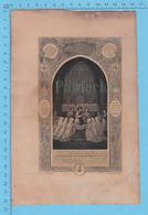 Vieux Papier - Premiere Communion 1889 Beatrice McClemmons, St-Grégoire De Naziance Buckingham P.Quebec - Religione & Esoterismo