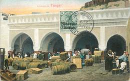 "CPA MAROC ""La Douane à Tanger"" - Tanger"