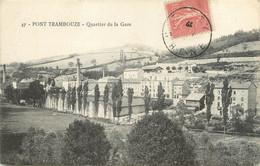 """CPA FRANCE 69 """"Pont Trambouze, Quartier De La Gare"""" - Otros Municipios"""