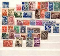 1948 Compl.- MNH Yv.Nr-570/607 +P.A.52/55 Bulgarie / Bulgaria - Années Complètes