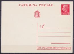 Italie - EP CP Cartolina Postale 20+5 Ct - PALERMO Santuario Di Santa Rosalia - Neuf - Postwaardestukken