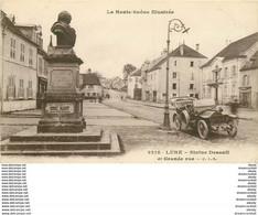 WW 70 LURE. Superbe Voiture Ancienne Décapotable Devant La Statue Desault 1917 Sur Grande Rue. Impeccable - Lure